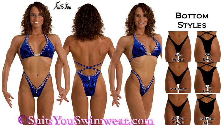 Figure Competition Suit or Physique Competition Suit #2648
