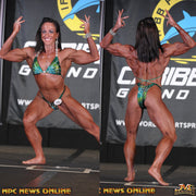 IFBB Pro Kelly Lynn. Physique Suit for IFBB or NPC