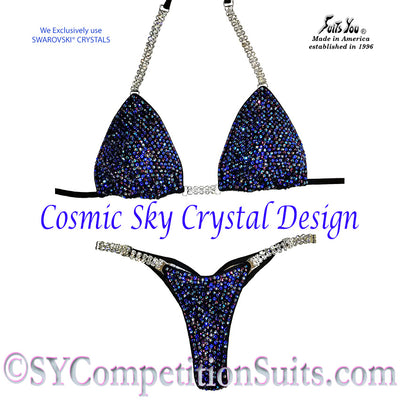 The Cosmic Sky Competition Bikini, Pro-Level Suit