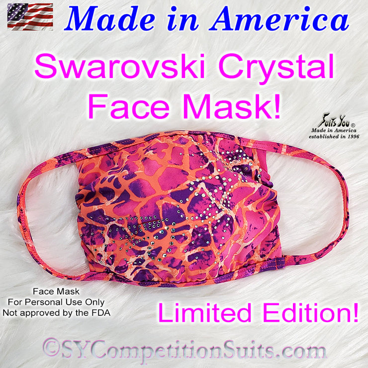 Crystal Face Mask, limited edition