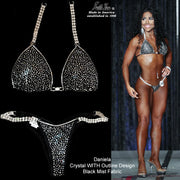 Crystal Competition Bikini, Crystal Bikini WITH Outline, customer photo