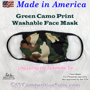 Camo Face Mask, made in America