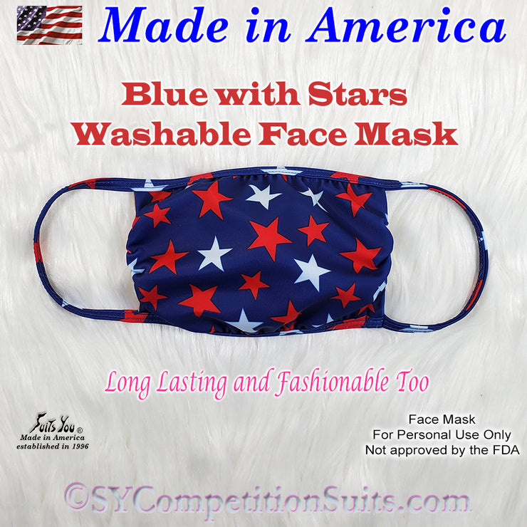 Patriotic Face Mask, made in America