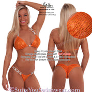 Competition Bikini, Heavy Crystal Design SYCS100