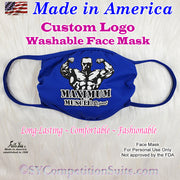 Custom face mask with your logo.