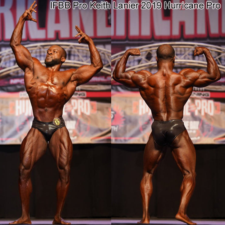 Men's Classic Physique Trunks, NPC or IFBB Trunks, IFBB Pro Keith Lanier