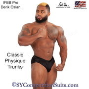 Men's Classic Physique Trunks, NPC or IFBB Trunks