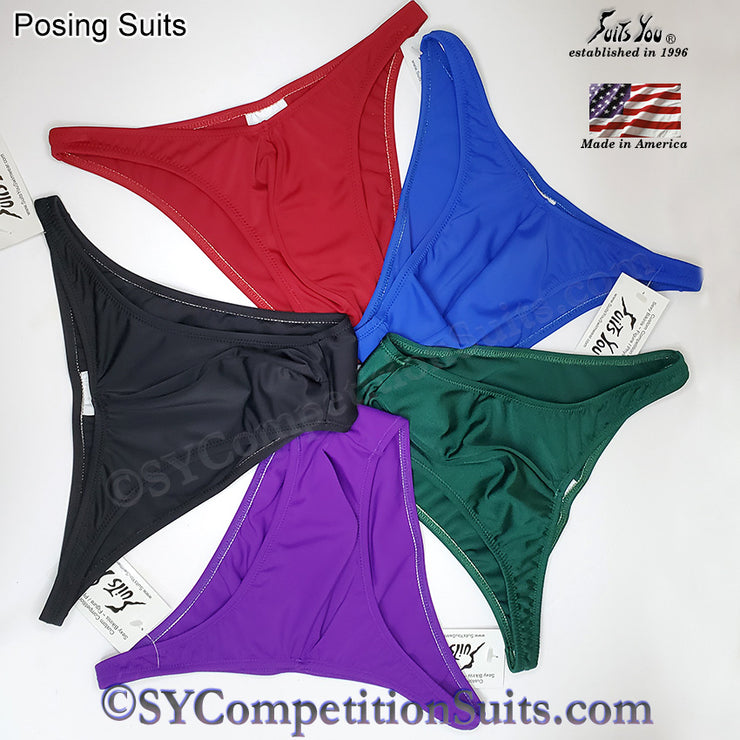 Men's Bodybuilding Suits, Rio Cut. IFBB or NPC posing suits