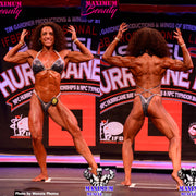 IFBB Pro Lisa Ward. Physique Suit or Figure Suit with Connector bottom.