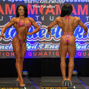 Pink Paradise Design Figure Suit or Physique Suit for IFBB or NPC