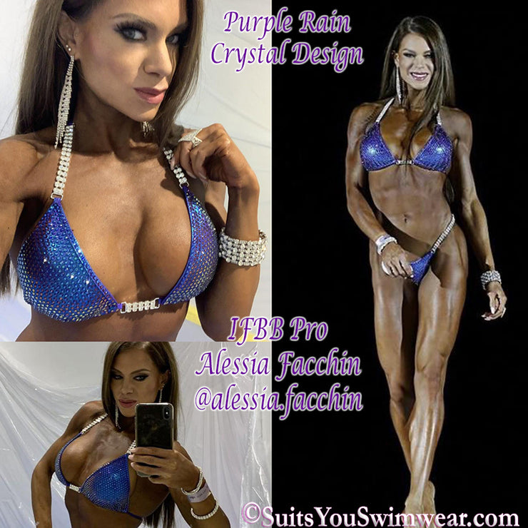 The Purple Rain Competition Bikini, IFBB Pro Alessia Facchin
