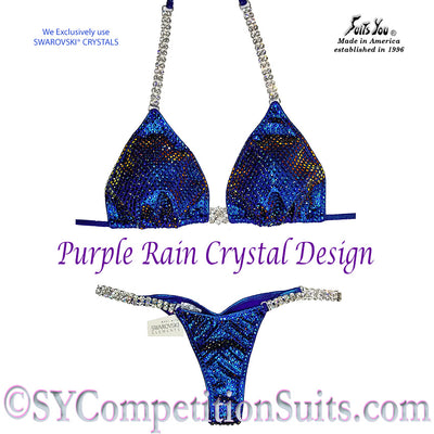 The Purple Rain Competition Bikini, Pro-Level Suit