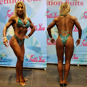 The Kelly Figure Competition Suit