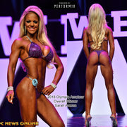 Competition Bikini, Gorgeous 2 Color Heavy Crystal, IFBB Pro