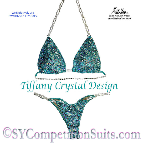 The Tiffany Competition Bikini, Pro Competition Suit