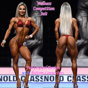 Wellness Competition Suit, Isa Pereira IFBB Pro