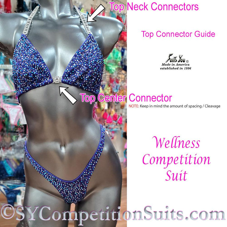 Wellness Competition Suit Top Connectors.