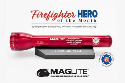 Firefighter Hero Award (June 2019) - Aurora Fire Rescue Battalion Chief Wendy Lippman