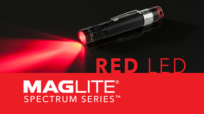 THE MAGLITE® SPECTRUM SERIES™ RED LED FLASHLIGHTS