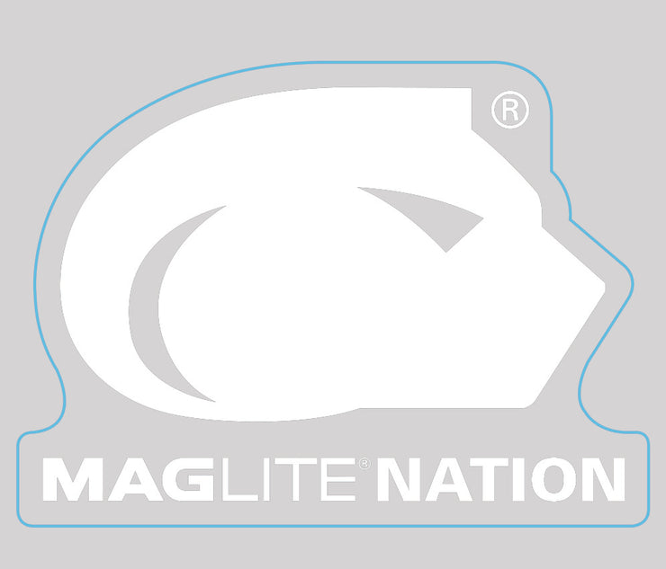 MAGLITE NATION Decal Sticker