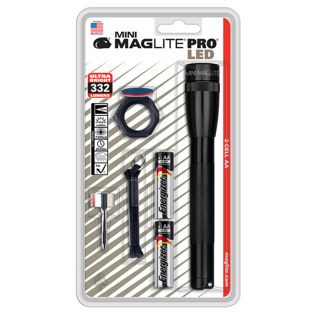 Mini Maglite LED PRO 2-Cell AA Combo Pack