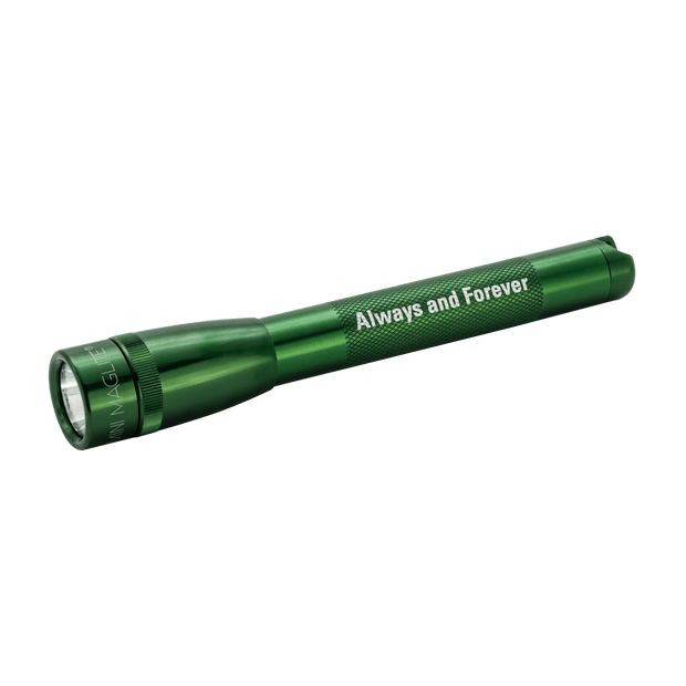 Mini Maglite Pro LED - Always and Forever - Pocket / Purse Flashlight - Green