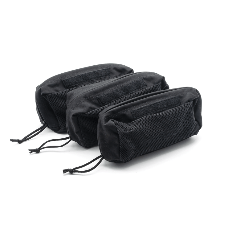Backpack Pouches Black