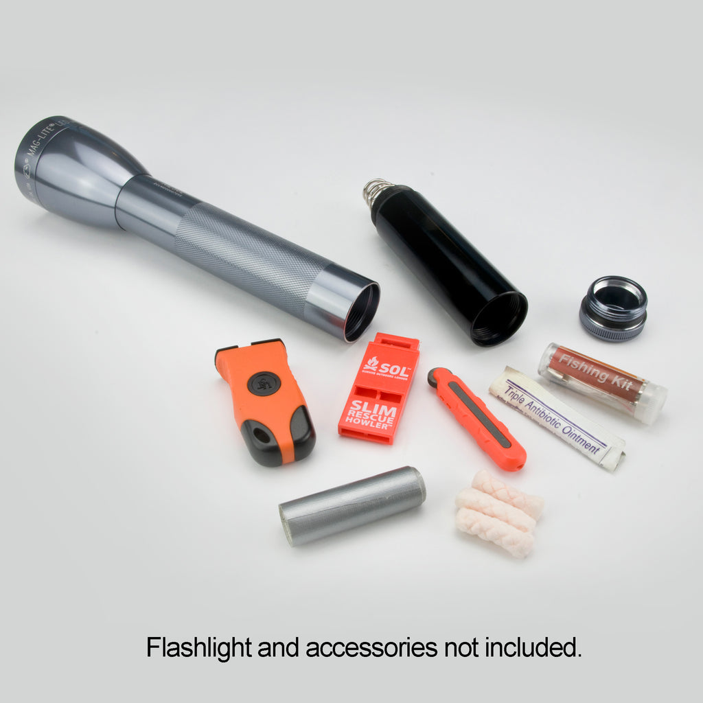 Maglite ML25, ML50, & ML150 - Barrel Storage