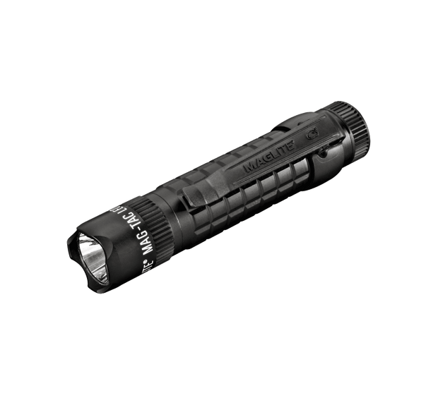 MAG-TAC CR123 LED Flashlight Crowned Bezel