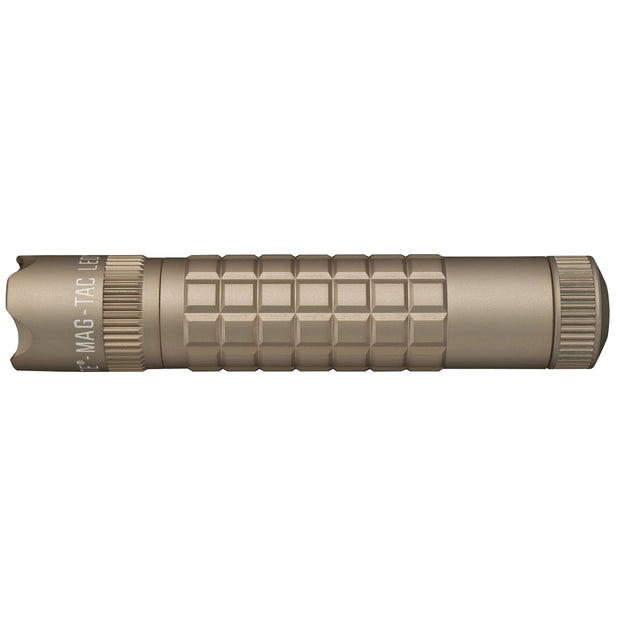 MAG-TAC CR123 LED Flashlight Crowned Bezel Like Coyote Tan