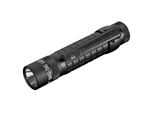 MAG-TAC CR123 LED Flashlight Plain Bezel