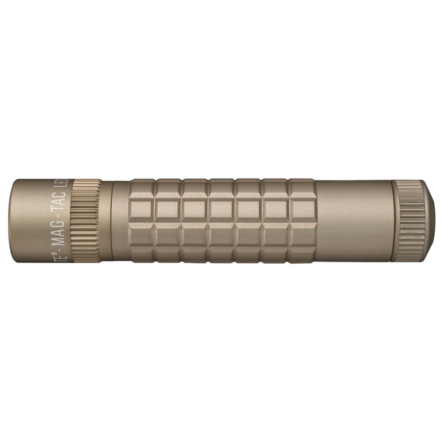 MAG-TAC CR123 LED Flashlight Plain Bezel Like Coyote Tan