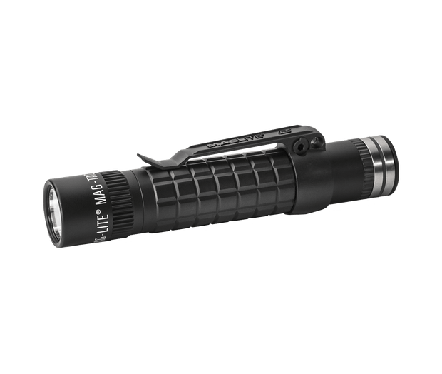 MAG-TAC LED Rechargeable Flashlight System Plain Bezel