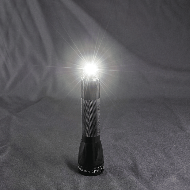 ML25LT LED - You Light Up My Life - 2-Cell C Flashlight Red