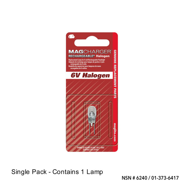 Replacement Lamp-Bulb for Mag Charger - Halogen - Flashlight