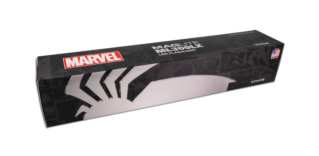 Marvel - Venom ML300LX LED 3-Cell D Flashlight
