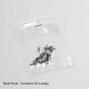 Replacement Lamp-Bulb for Solitaire 1-Cell AAA Flashlight
