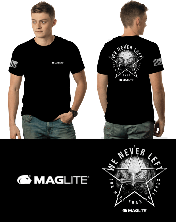 We Never Left T-Shirt Black