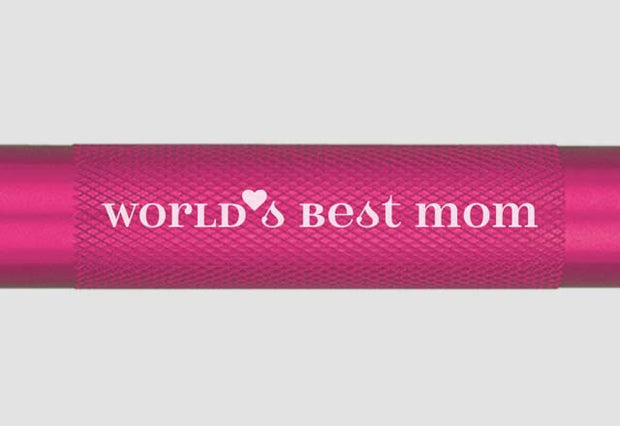 World's Best Mom Mini Maglite Xenon 2AA