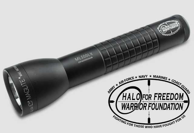 Maglite® ML300LX™ 2-Cell D LED Flashlight - Halo