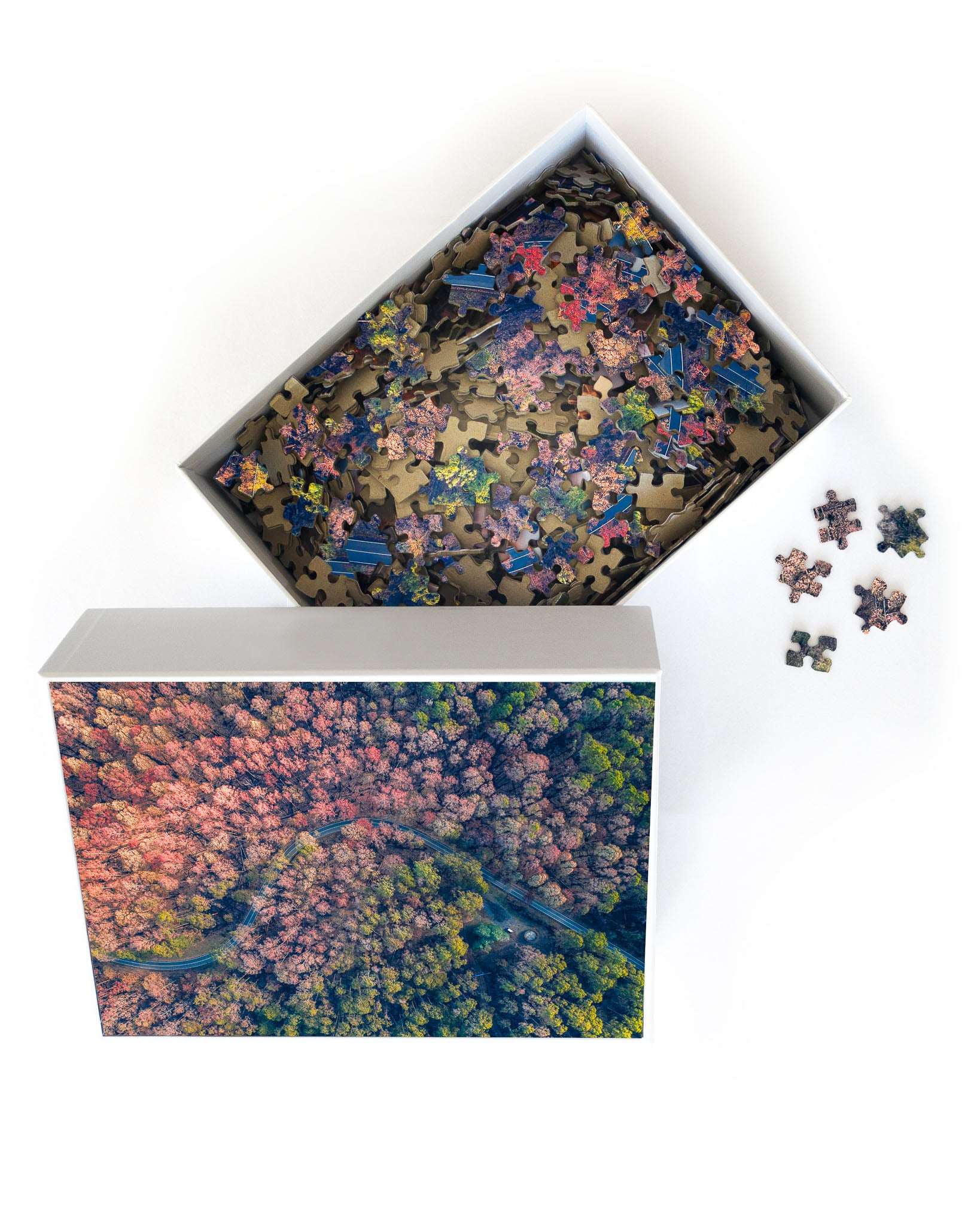 Autumn Trees - Jigsaw Puzzle