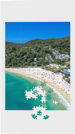 Noosa Main Beach - Portrait Jigsaw Puzzle