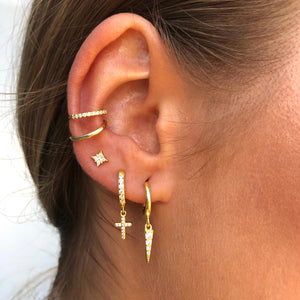EARCUFF BASIC GOLD
