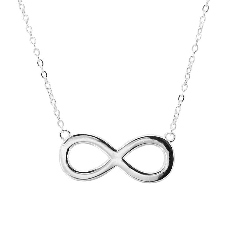 COLLAR INFINITY SILVER