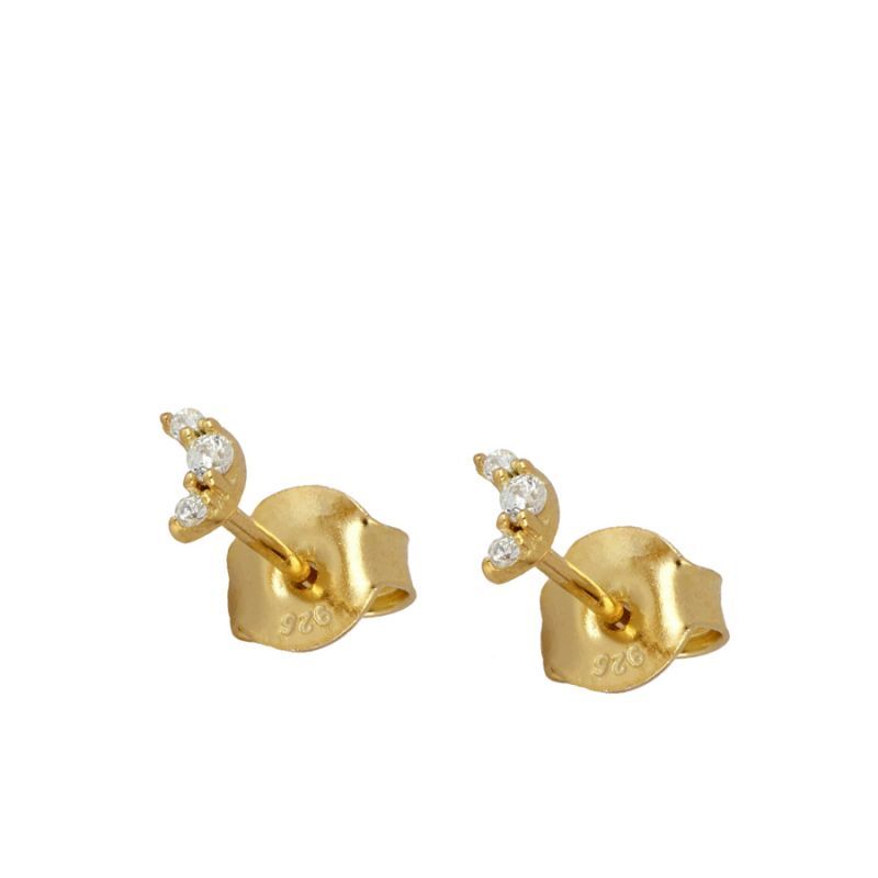 PENDIENTES MINI BRIGHT LUNE GOLD