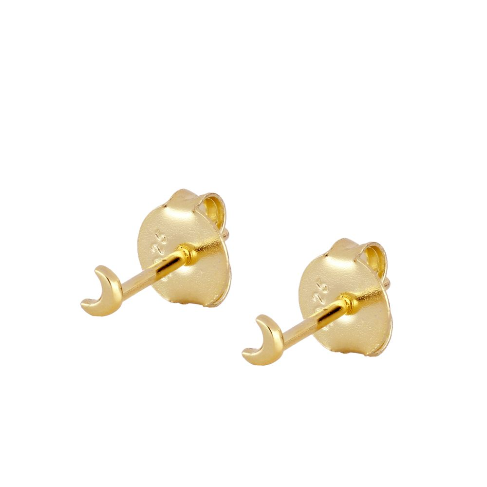PENDIENTES MINI MOON GOLD