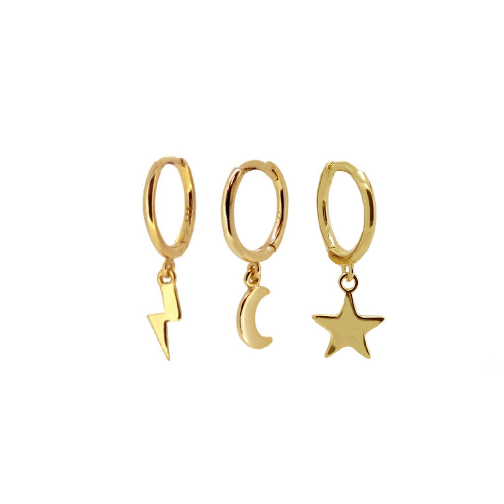 PACK ESSENTIAL HOOPS GOLD