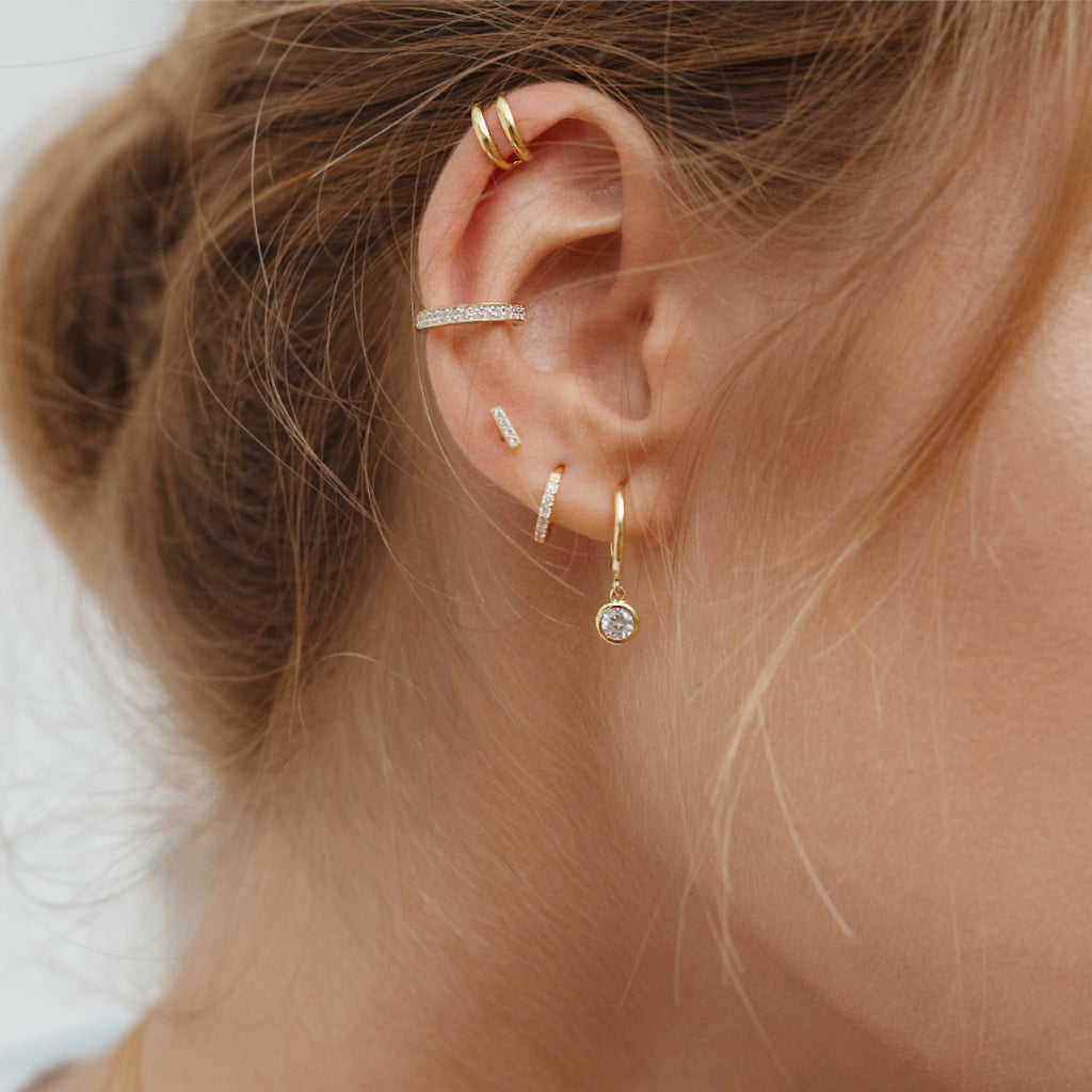 EARCUFF BROOKE GOLD