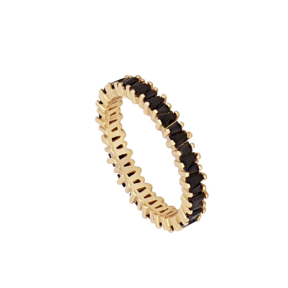 ANILLO TANGLESI BLACK GOLD