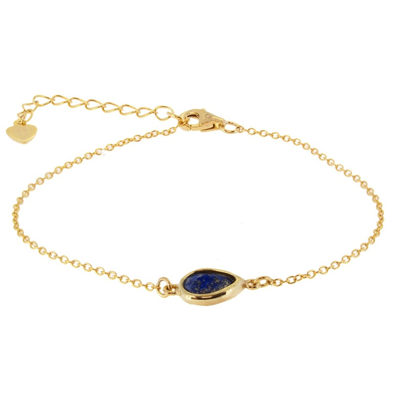 PULSERA MADAME BLUE GOLD